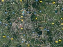 düsseldorf landkarte