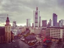 straßen von frankfurt