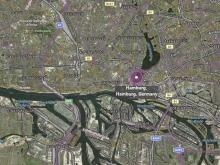 Hamburg Landkarte