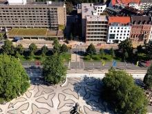 über den dächern von hannover. Neues Rathaus.