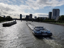 Main River. Frankfurt.