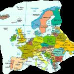 Europakarte Mit Hauptstädten