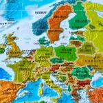 Europakarte Länder und Hauptstädte
