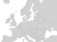 Europakarte Leer