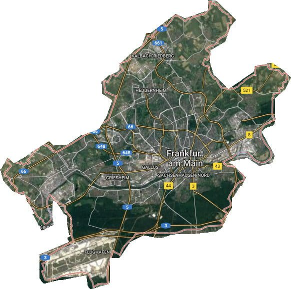 stadtplan frankfurt stadtteile
